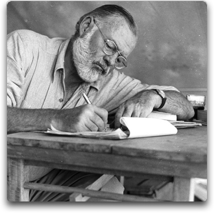 "Ernest Hemingway originally self published under the pen name ""Peter Jackson"""
