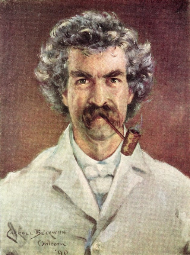 Mark Twain self published Huckleberry Finn